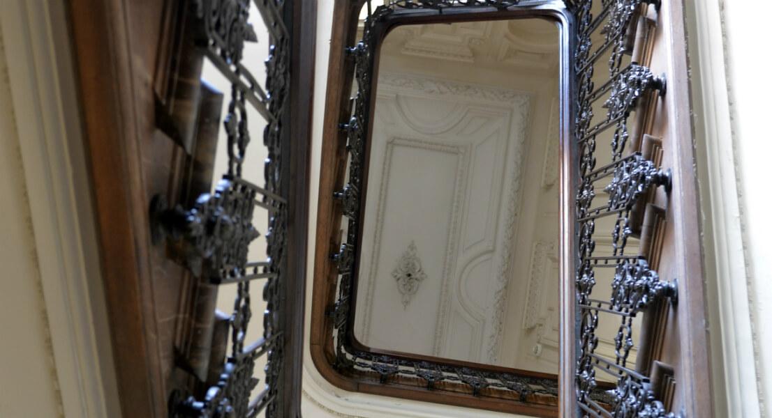 Escalier de l'Hôtel particulier boulevard d'Armentières