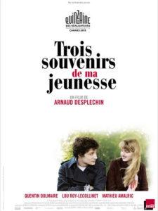"""Affiche du film """"Trois souvenirs de ma jeunesse"""""""