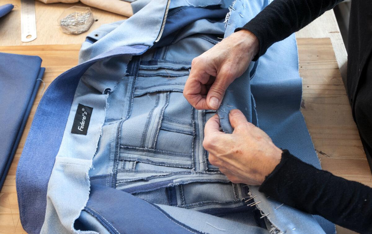 Pièce en jean sur-mesure, Federal's