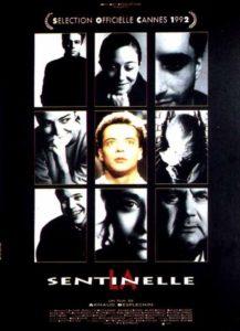 """Affiche du film """"La sentinelle"""""""