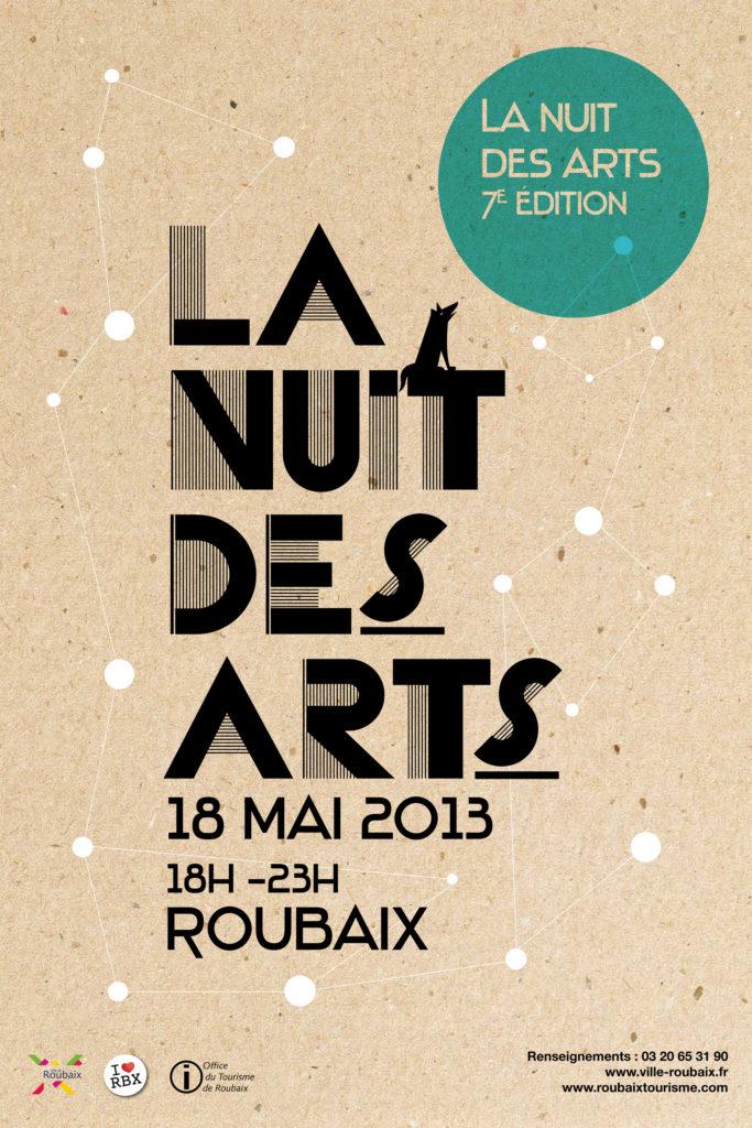 """Illustration d'Amandine Darachinois pour """"La Nuit des Arts"""""""