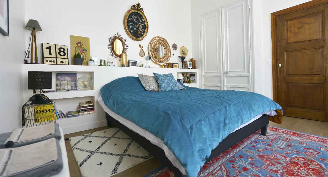"""Chambre de la maison d'hôte """"My Little Roubaix"""""""