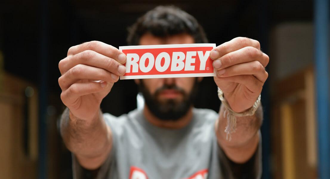 Artiste street-art Roobey