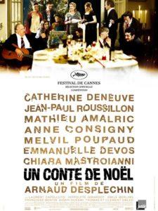 """Affiche du film """"Un conte de Noël"""""""